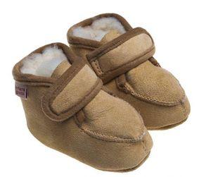 BABBI - bambi veg beige - Pantofola Da Bambino