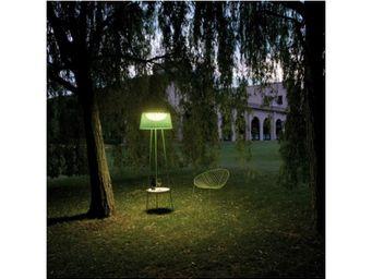 VIBIA - lampadaire extérieur avec plateau wind 4050 - Lampione Da Giardino