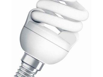 Osram - ampoule fluo compacte spirale e14 4000k 7w = 40w | - Lampada Fluorescente Compatta