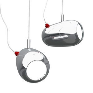Marzais Creations - kingston - suspension chrome l15cm | suspension ma - Lampada A Sospensione
