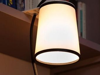 Designheure - lightbook - lampe de bibliothèque blanc/noir | app - Lampada Da Lettura