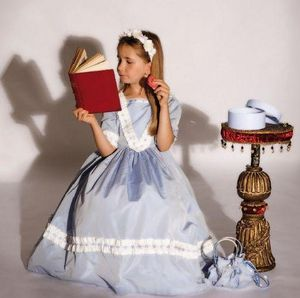 Au Nain Bleu - marie antoinette bleue - Costume Di Carnevale
