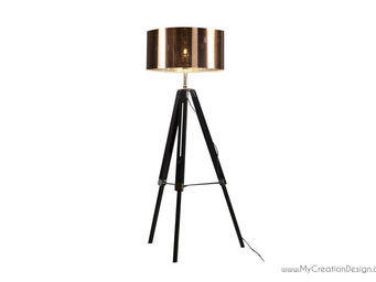 MyCreationDesign - polly - Lampada Da Terra Treppiede