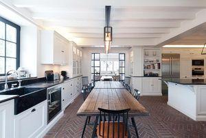Marbrerie Des Yvelines -  - Cucina Componibile / Attrezzata