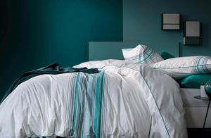 BLANC CERISE - reve en couleurs - Parure Lenzuola