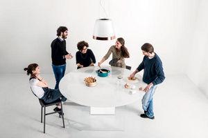 LAGO -  - Tavolo Da Pranzo Rotondo
