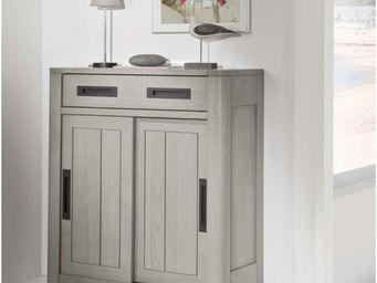 Ateliers De Langres - meuble d'entrée deauvil - Credenza Alta