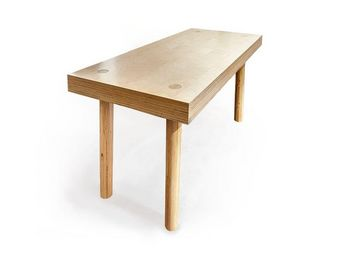 MALHERBE EDITION - table etabli - Scrivania