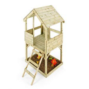 MOOKIE TP Toys - cabane enfant en bois woodplay - Casetta Da Giardino Per Bambini