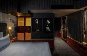 DESJEUX DELAYE - hôtel snob - Progetto Architettonico Per Interni