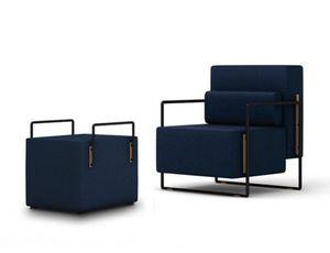 FRANK CHOU Design Studio - suit single - Poltrona E Pouf