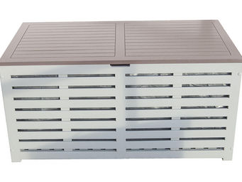 City Green - coffre banc de jardin + housse burano - 121 x 63 x - Cassapanca Da Giardino