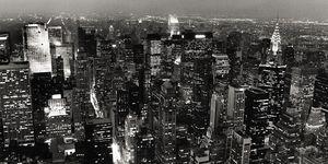 Nouvelles Images - affiche new york de nuit - Poster