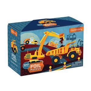 BERTOY - 100 pc foil puzzle construction - Puzzle Per Bambini