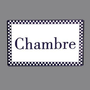 CHEMIN DE CAMPAGNE -  - Piastra Per Porta