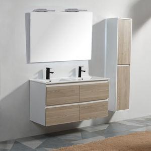 Rue du Bain - meuble de salle de bains 1425410 - Mobile Con Doppio Lavabo