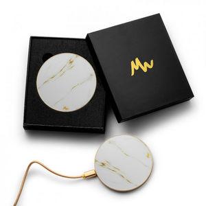 KUBBICK - sans fil carrara gold - Caricabatterie Per Smartphone