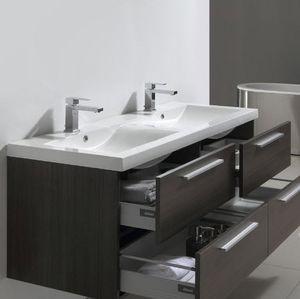 Mobile con doppio lavabo