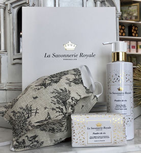 LA SAVONNERIE ROYALE - poudre de riz & masque - Box Benessere