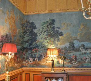 IN CREATION - reproduction de papier peint - musée de la chasse et de la nature - Carta Da Parati Personalizzata