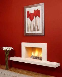 Marble Hill Fireplaces -  - Camino Con Focolare Aperto