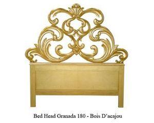 DECO PRIVE - tête de lit en bois doré modèle granada - sur comm - Testiera Letto