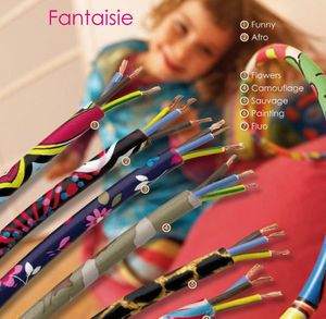 DECOVISION  Le cable decore - fantaisie - Cavo Elettrico