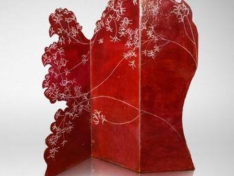 Genevieve Bonieux - dentelle rouge - Paravento Separ�