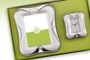 INTERNATIONAL GIFT_LARMS GROUP - in argento con cornice abbinata - Orologio