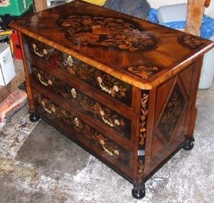 3ar - commode louis xiv - Comò / Cassettone