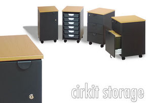 Counties Furniture Group - cirkit storage - Cassettiera A Rotelle