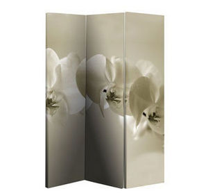 Amity - sepia orchid (double sided) - Paravento Separé