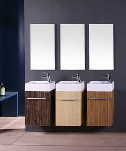 Amber Leisure - vanity unit 390x210x610mm - Armadio Bagno