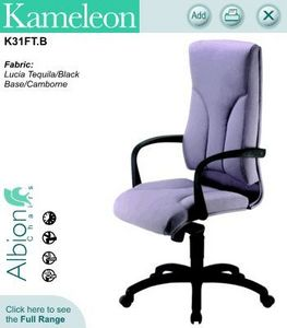 Albion Chairs - kameleon - Poltrona Ufficio