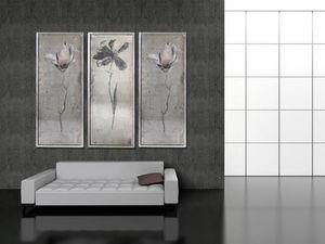 Filigrana - floral tryptych - Pannello Decorativo