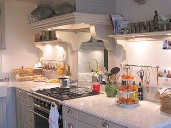 Luc Perron - sur mesure style campagne chic - Cucina Componibile / Attrezzata