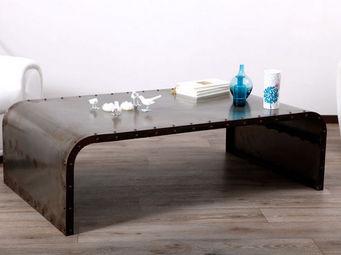 Miliboo - ferra table basse - Tavolino Rettangolare