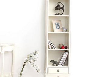 Miliboo - bianca bibliotheque - Mobile A Colonna Sistematutto