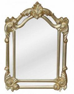 Demeure et Jardin - miroir pare close vieil or - Specchio