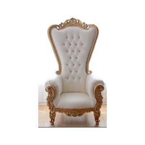 DECO PRIVE - trone de style baroque royal - Poltrona