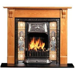 The Edwardian Fireplace -  - Camino Con Focolare Aperto