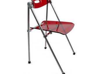 Miliboo - lot de 4 chaises pliantes design julie - Sedia