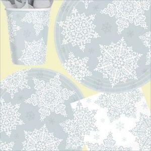 Amscan International Ltd. - winter - Stoviglia Monouso