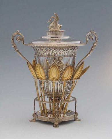 Dario Ghio Antiquites - Vasetto da marmellata-Dario Ghio Antiquites